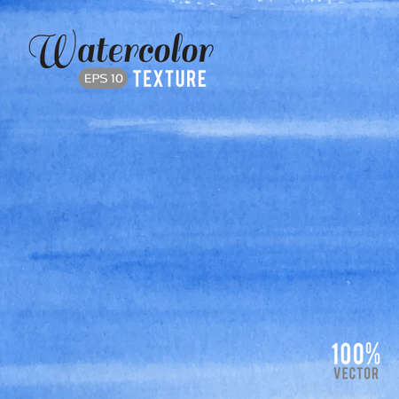blue striped watercolor texture Illustration