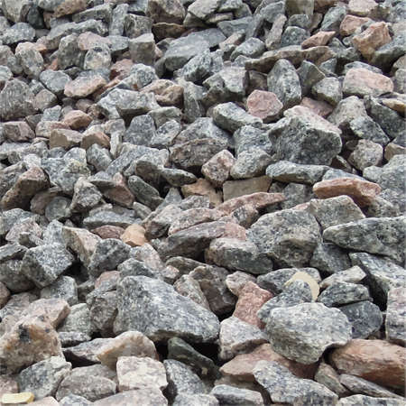 rubble: Grey raw stones background. Abstract vector illustration .