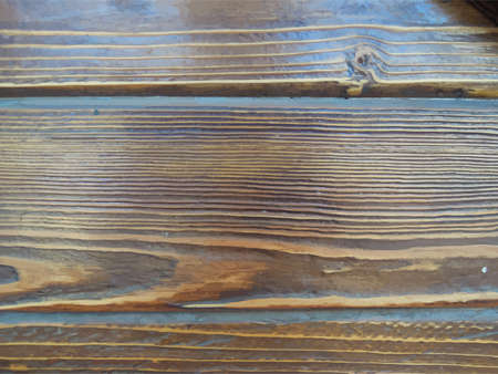 floorboard: Grunge brown wood texture. Abstract vector background .