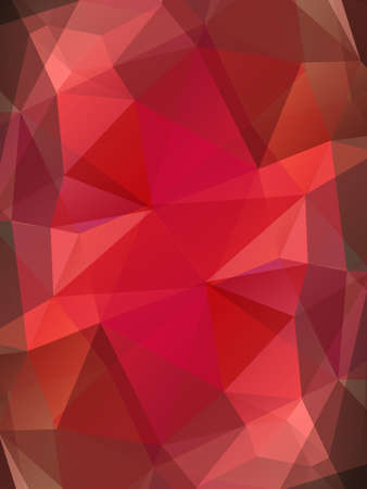 ruby stone: Red ruby gem vector background. Bright polygonal transparent design for your business presentations, flyers, posters, banners, web page, advertisement, wrapping, printed products Illustration