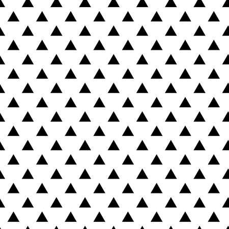 Vector geometric abstract seamless pattern. Triangles.
