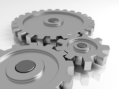 Gear wheels. A part of the mechanism. Stock Photo - 7937750