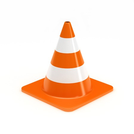 Cone Background Cone on White Background