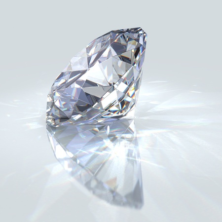 Diamond jewel photo