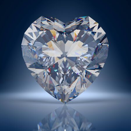 coeur diamant: Composition de coeur de diamant