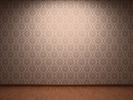 Illuminated fabric wallpaper Stock Photo - 8679976