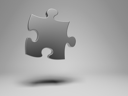 Puzzle piece composition photo