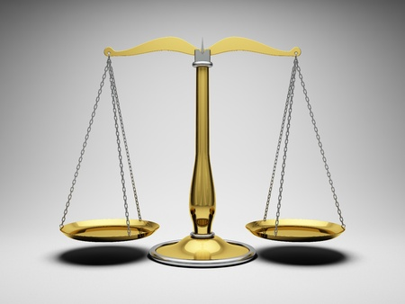 Scales justice Stock Photo - 10148394