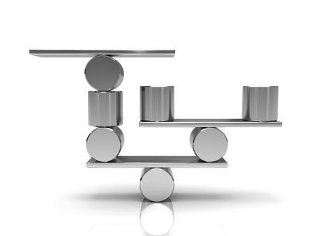 cilindro: Equilibrar los cilindros de acero de la placa de metal