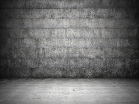 Blank dirty grunge wall Stock Photo - 15685972