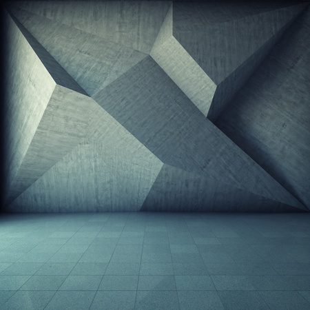 Abstract geometric background of the concrete Stock Photo - 16430821