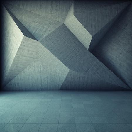 mértan: Absztrakt geometriai háttér a beton