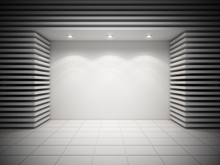 An empty storefront of shop Stock Photo - 16752185