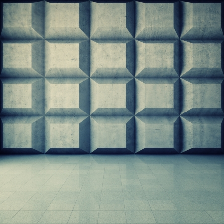 Abstract geometric background of the concrete Stock Photo - 18708260