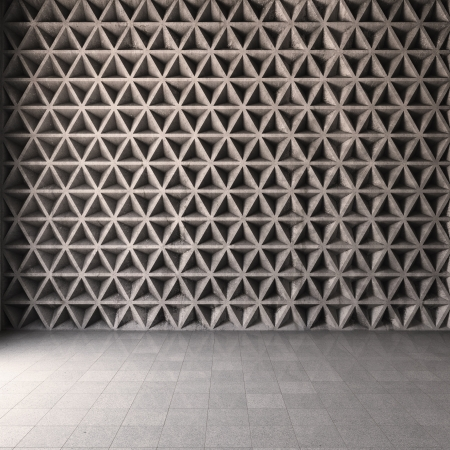 Abstract geometric background of the concrete Stock Photo - 19867144