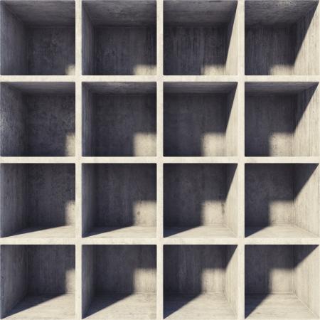 Diseñar secciones cuadradas de hormigón Foto de archivo - 20460557