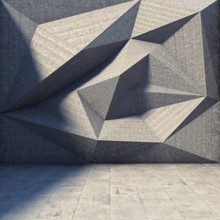 Abstract geometric background of the concrete Stock Photo - 20460565