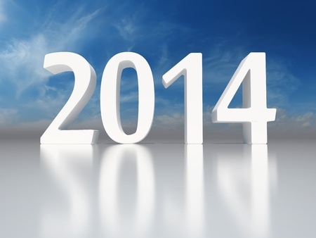 New Year 2014 background Stock Photo - 21863769