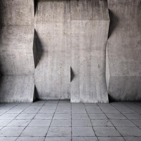 Abstrait géométrique du béton Banque d'images - 27506647