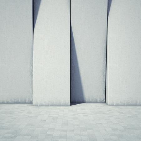 콘크리트의 추상적 인 기하학적 배경