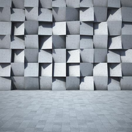 Abstrait géométrique du béton Banque d'images - 32994386