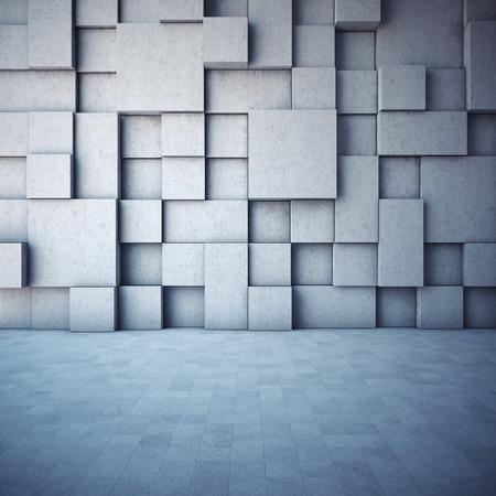 Résumé fond géométrique du béton Banque d'images - 39577196