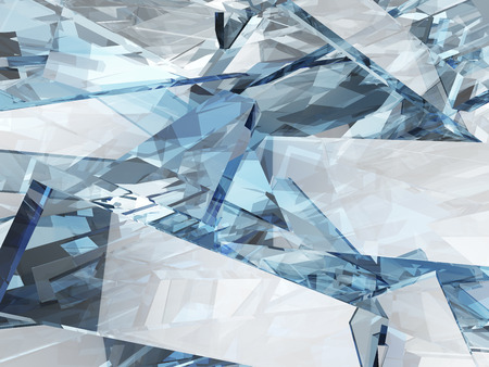 ice surface: Abstract blue glass background