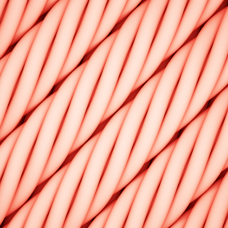Abstract rope background. 3D illustration. Stock Photo