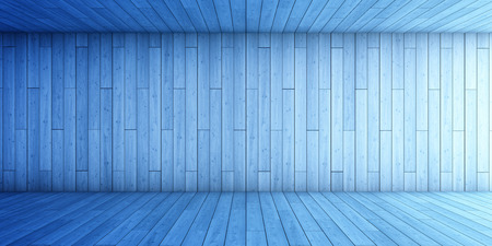 Abstract background  of blue tunnel. 3D illustration. Stok Fotoğraf
