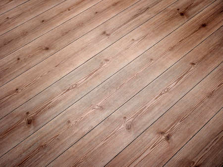 wood flooring: Wood flooring with diagonal boards.