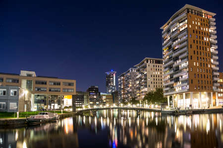 The city lake of The Hague in The Netherlands