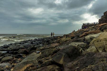 sea view from Bandra Bandstand, Mumbai