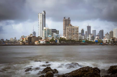 Mumbai city view from Hajiali Dargah
