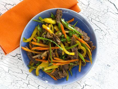 stir fry: Stir Fry Beef and Vegetables