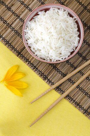basmati rice: Boiled Basmati rice
