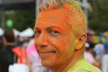 Here I am. The color run Turin, 2018
