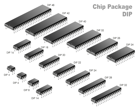datasheet: Chip Package  DIP