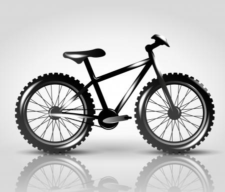mountain bike: vector bike