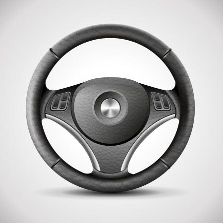 kierownica, szczegółowe realistyczne wektor