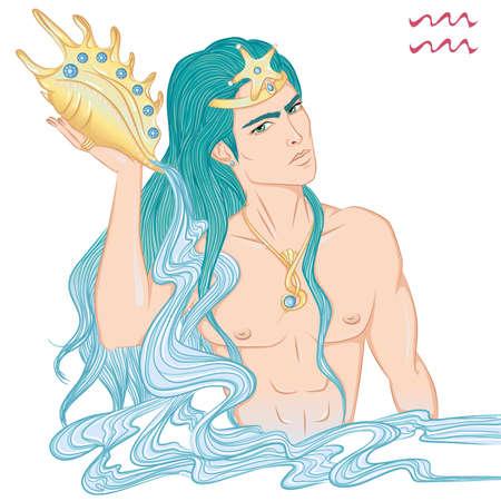 Astrological sign of Aquarius