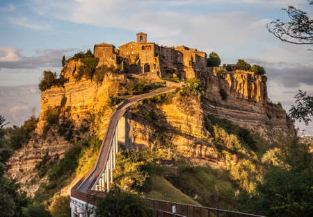 Ancient Civita di Bagnoregio, the dying village 