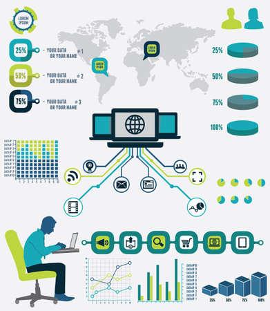 mapa de procesos: Infograf�a de la anal�tica de la red