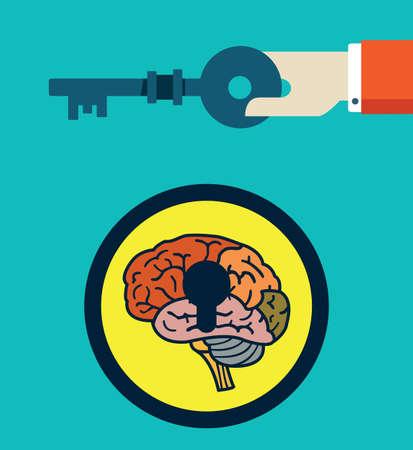 mind map: Hidden Human Resources - vector illustration Illustration