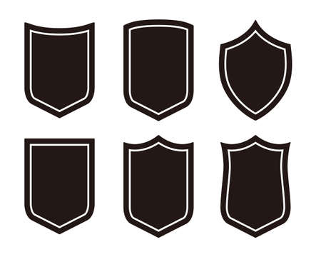 Emblem vector illustration set