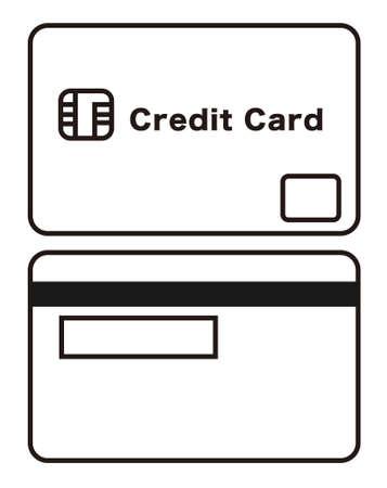 Credit card / vector illustration
