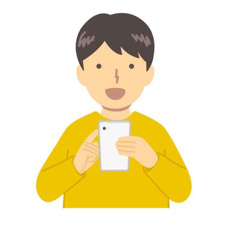 Boy in Yellow Closures / Operation Illusztráció