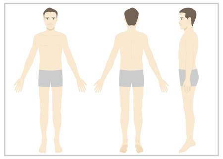 Maule / Whole body / Underwear / Strong flat