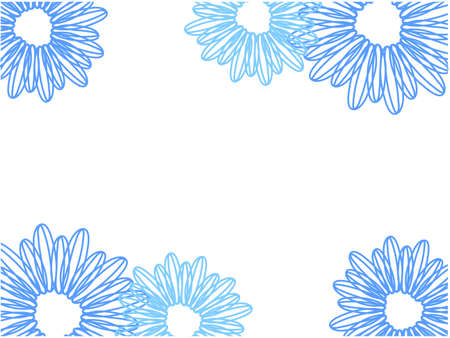 Light blue flower/background/vector