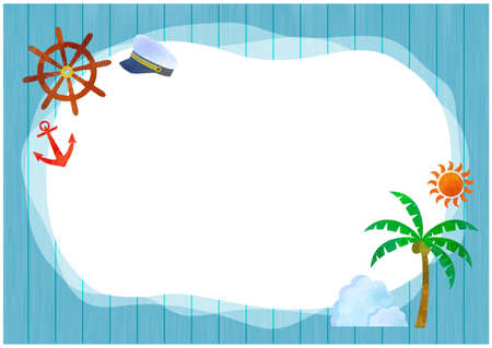 Summer background / vector