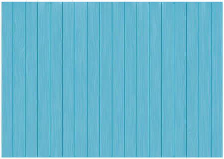 Blue Wood Background / Vector Illusztráció
